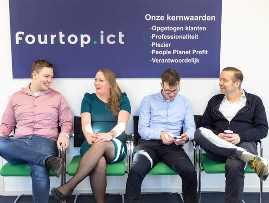Ons team | Fourtop ICT