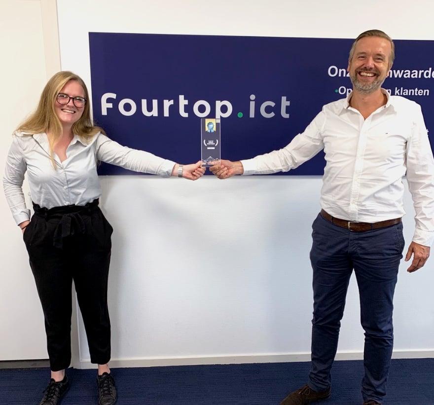ESET award | ESET Gold Partner | Fourtop ICT