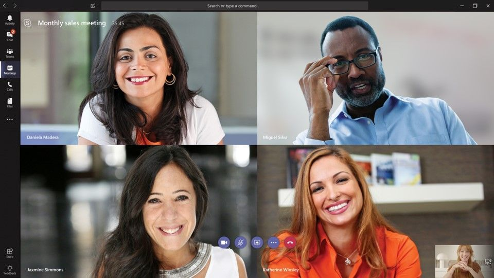 Online meeting Microsoft Teams