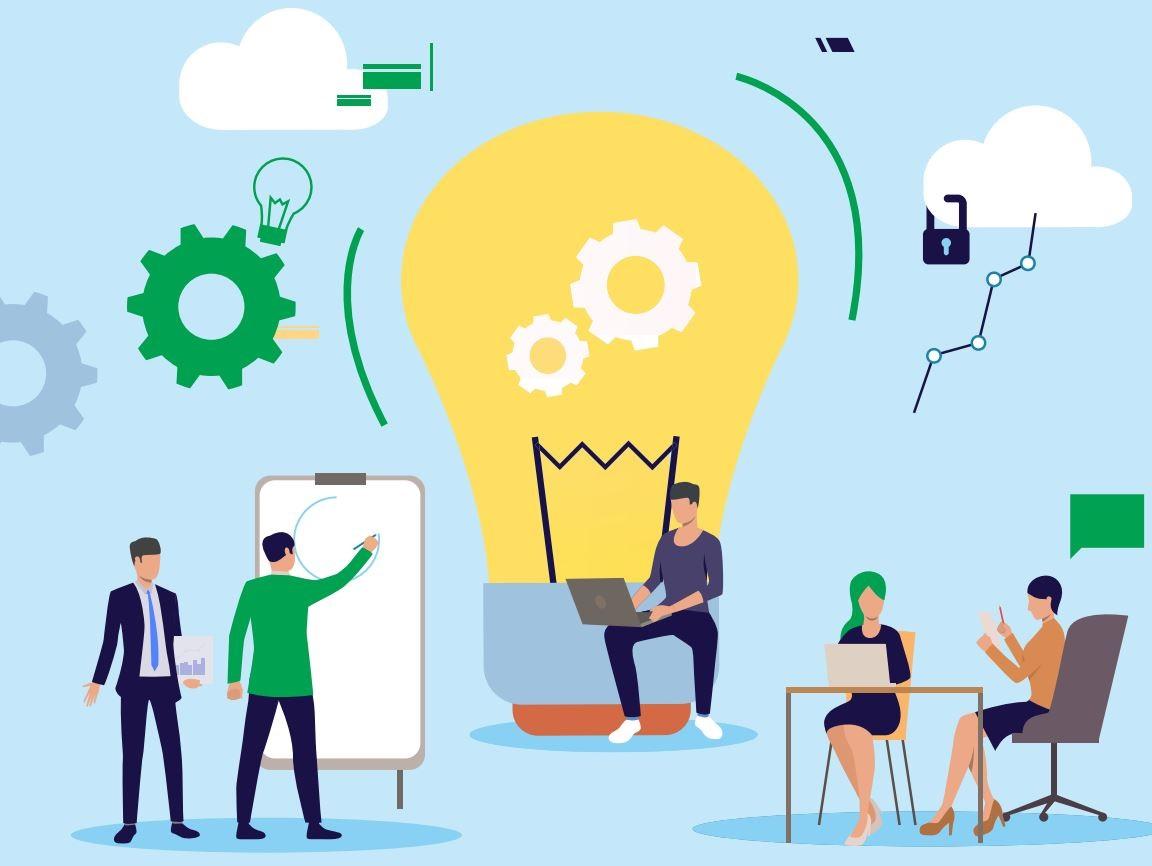 De blauwdruk voor een moderne mkb-organisatie | Fourtop ICT download
